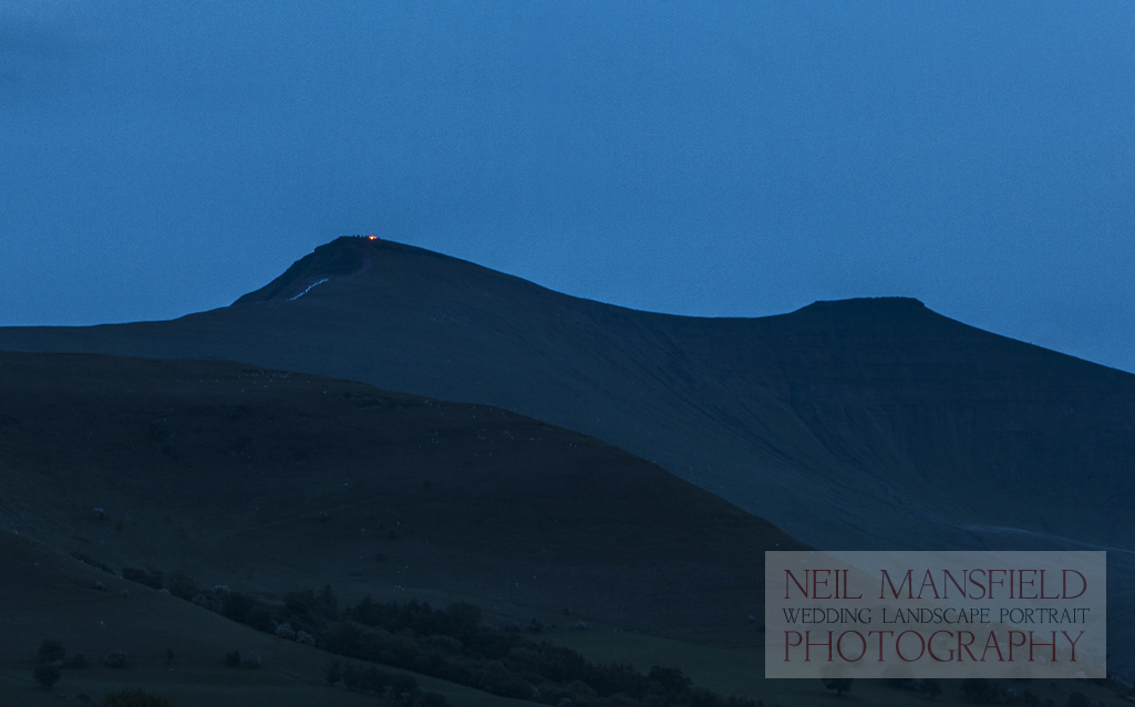 The Brecon Beacons Queens Jubilee Beacons