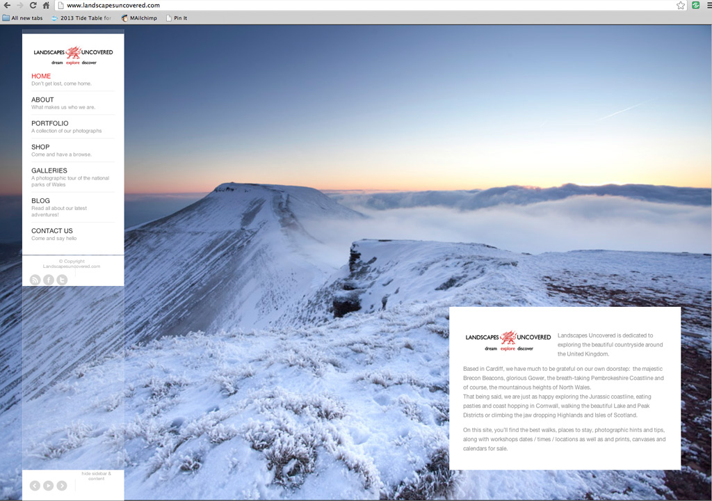 Landscape Photography in the Brecon Beacons